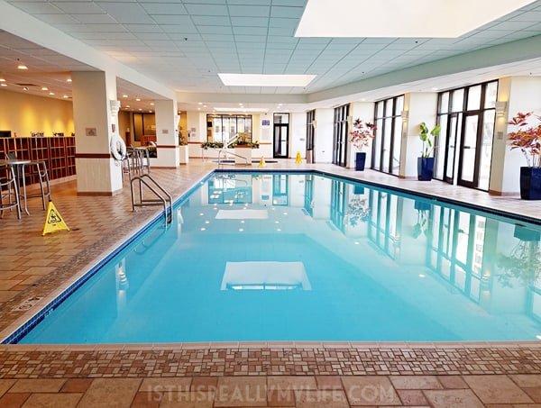 Hilton Salt Lake City Center pool