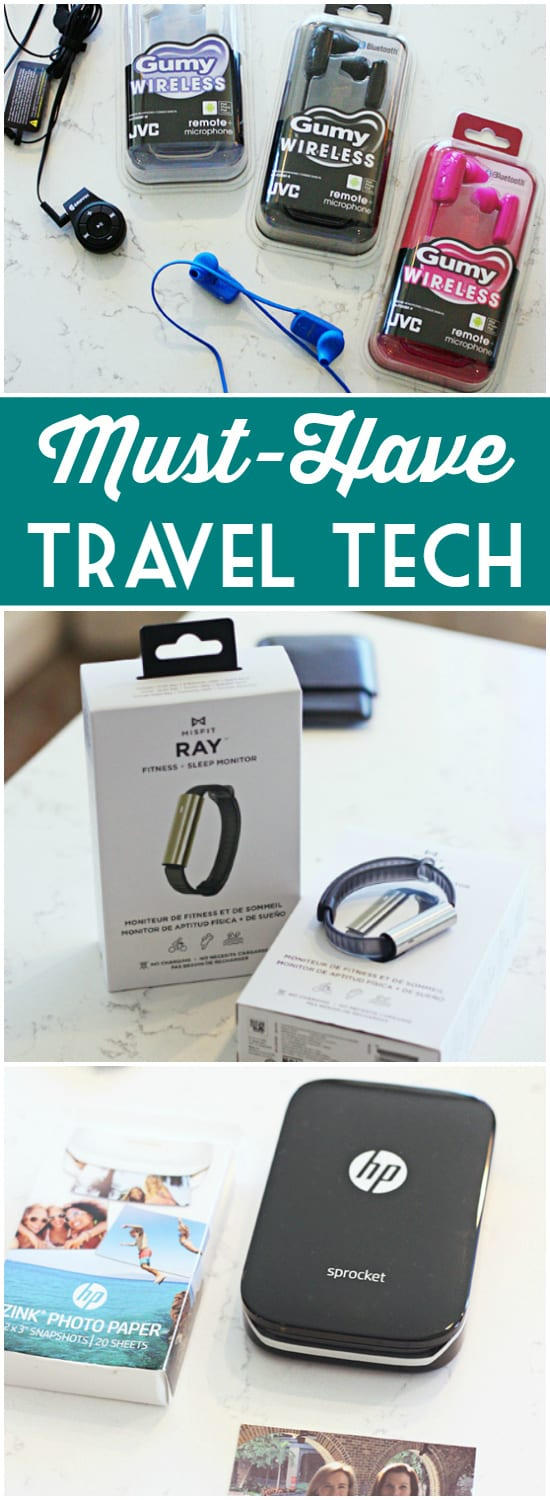 Must-Have Travel Tech -- Whether you're road tripping across the country or roaming the globe, don't leave home without this year's must-have travel tech. #TNTSLC