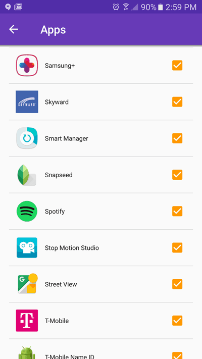 TeenLimit parental control app