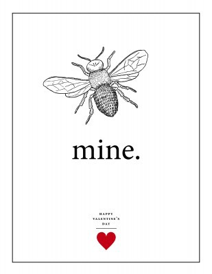 Bee Mine printable
