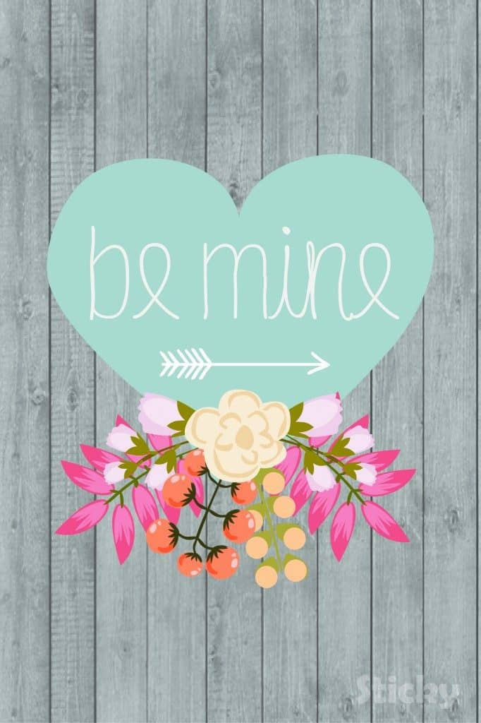 Be Mine Valentines Day Printable