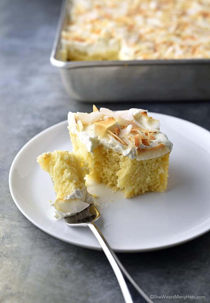 Perfect coconut sheet cake recipe
