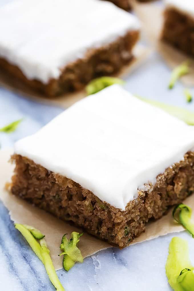 Zucchini sheet cake recipe