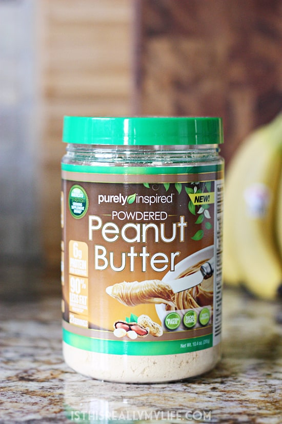 Purely Inspired powdered peanut butter