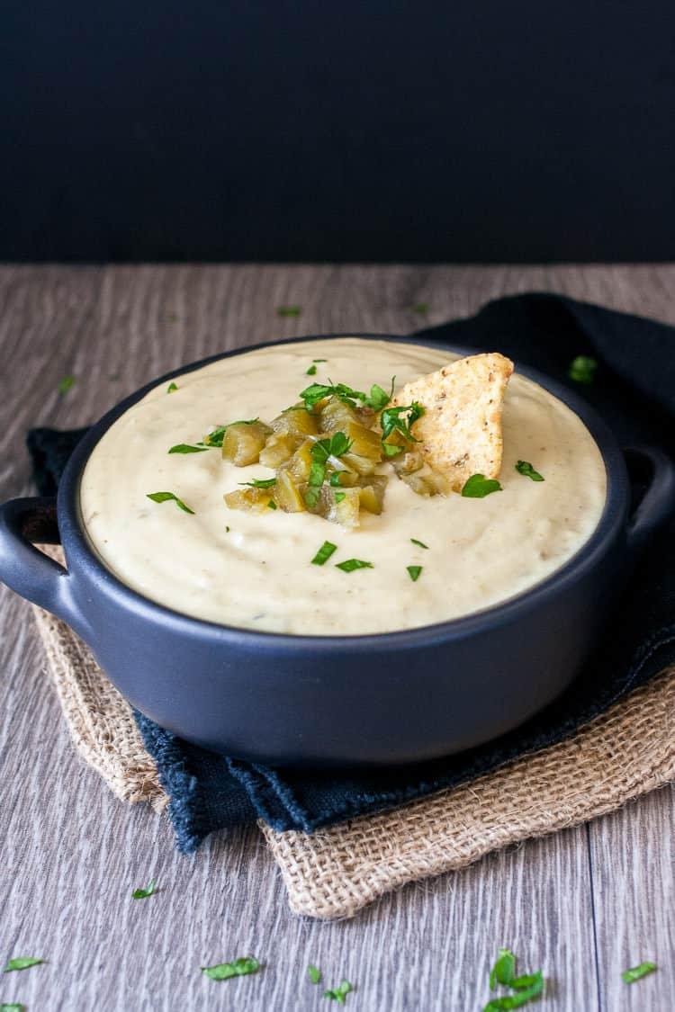 Vegan queso blanco recipe