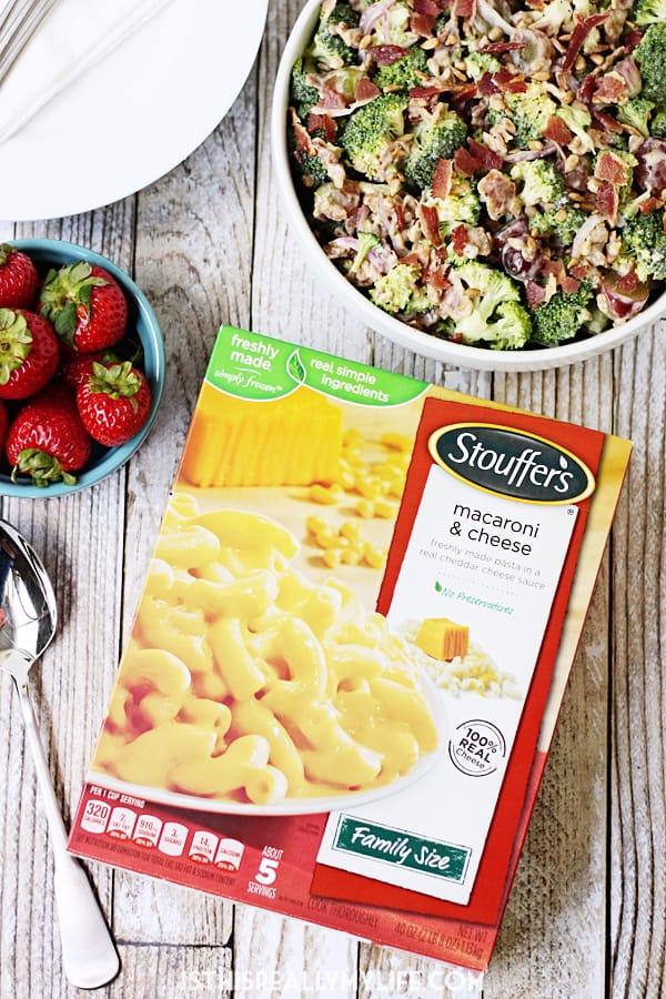 Stouffers Macaroni & Cheese