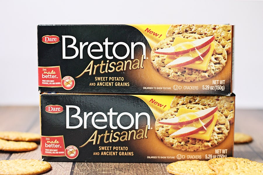 Breton Artisanal Sweet Potato and Ancient Grains Crackers
