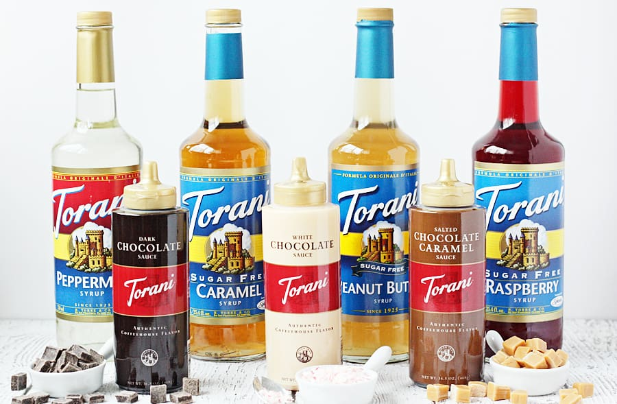 Torani Syrups and Sauces