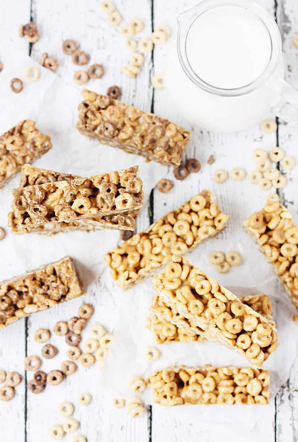 Easy no bake cereal bars half scratched easy no bake cereal bars easy no bake cereal bars take about ccuart Image collections
