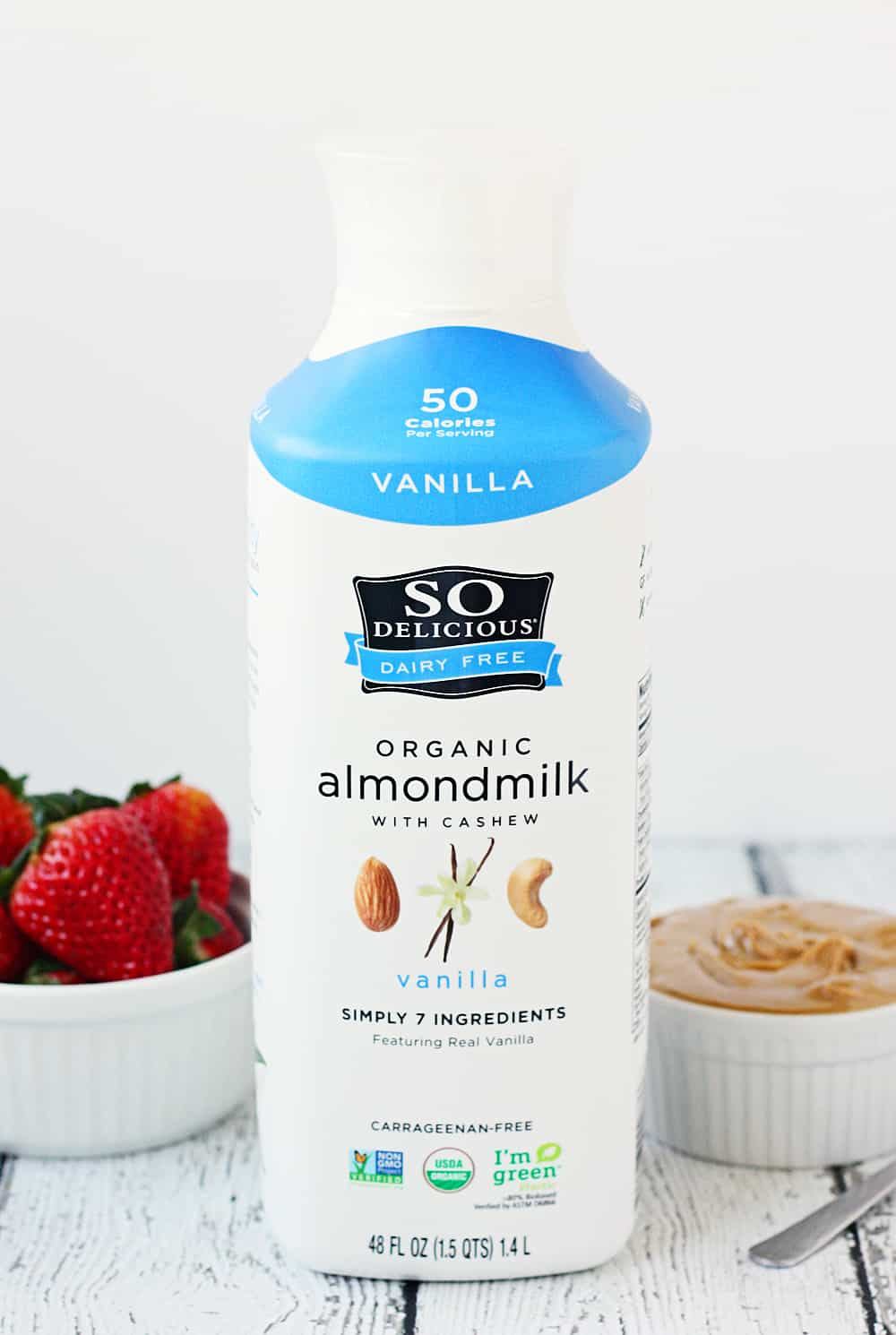 So Delicious Dairy Free Organic Almondmilk
