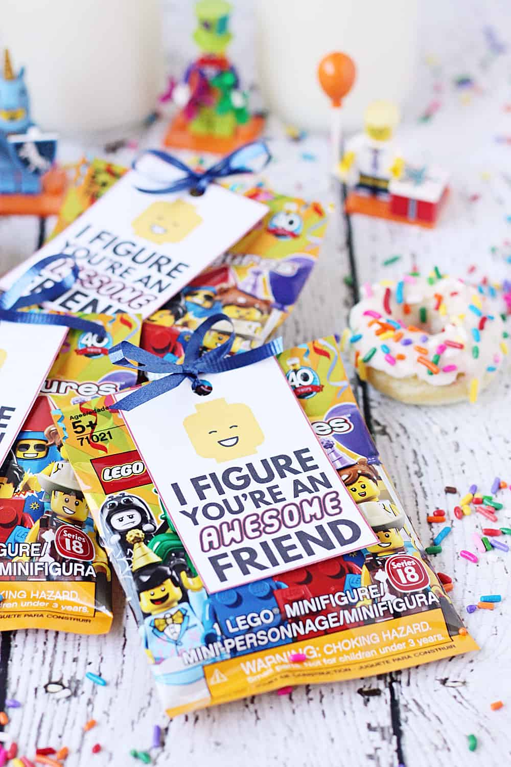 FREE Printable LEGO Gift Tag Having A Party Attach This Free