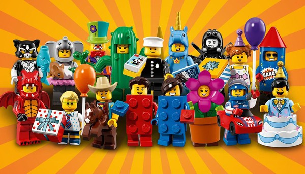 LEGO  40th birthday collectible minifigures