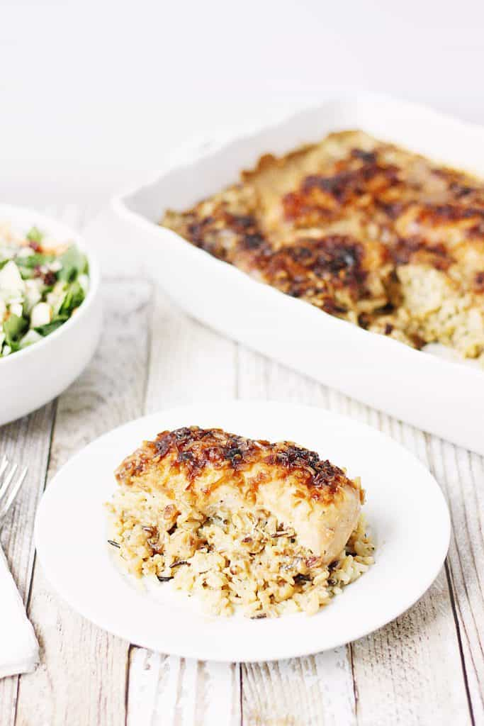 One-Pan No Peek Chicken & Rice
