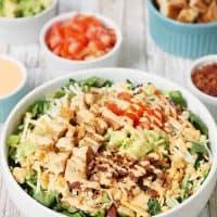 5-Minute Southwest BLT Chicken Salad