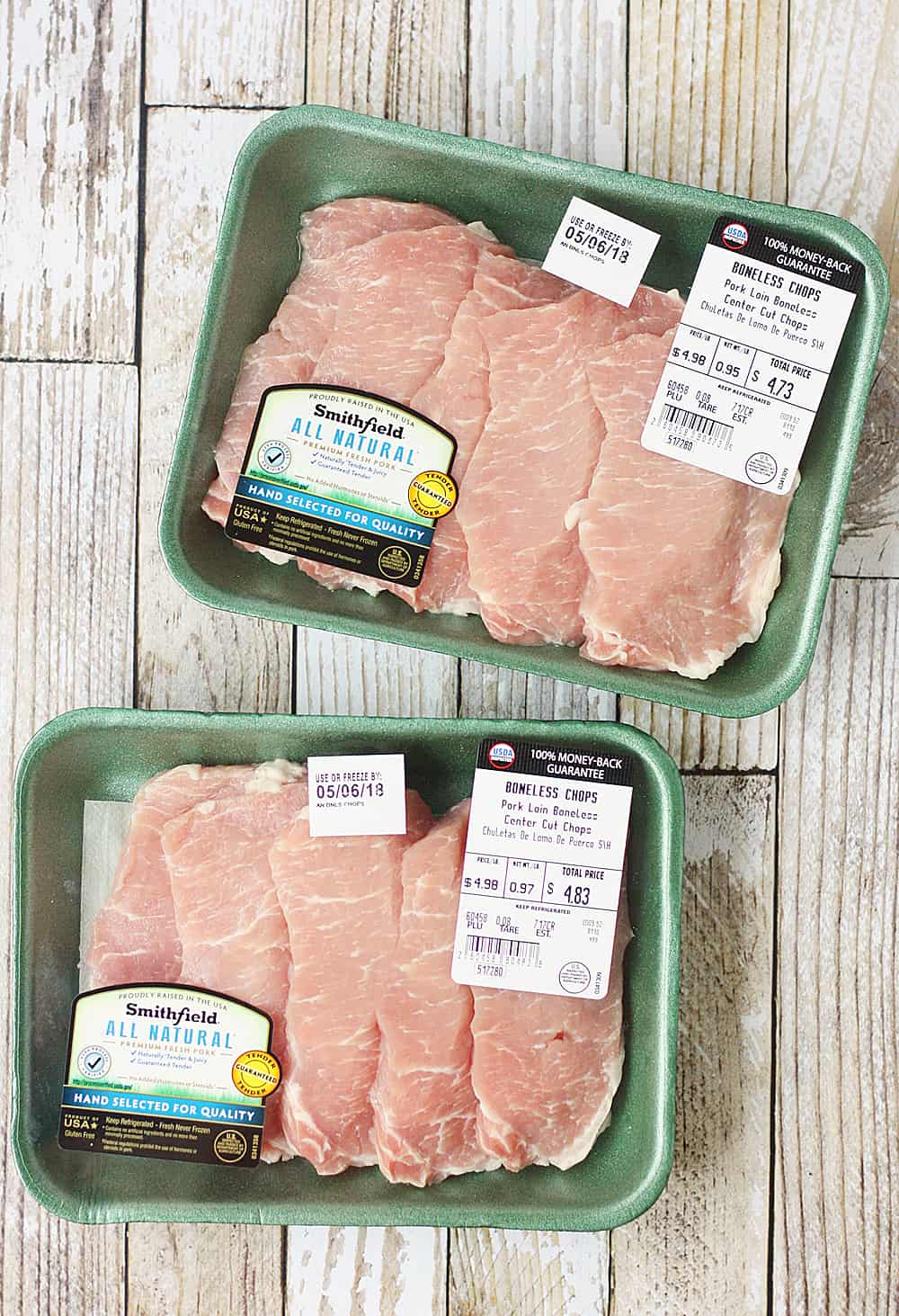 Smithfield All Natural Fresh Pork