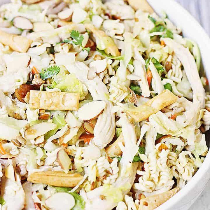 Easy Asian Ramen Salad
