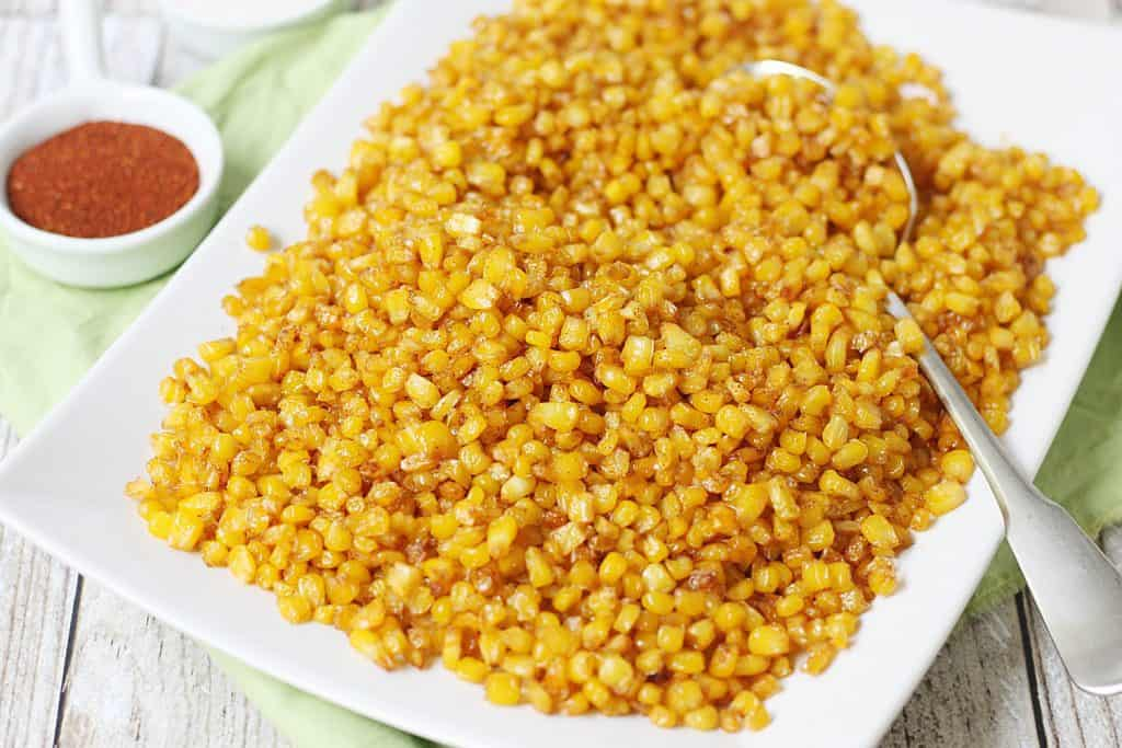 How to Roast Frozen Corn in the Oven (It's Super Easy!)