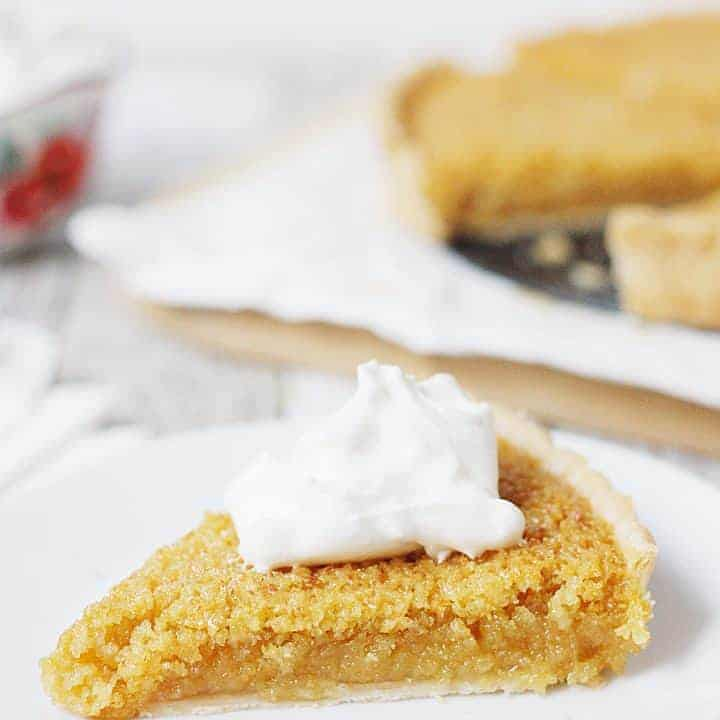 Easy Treacle Tart Recipe