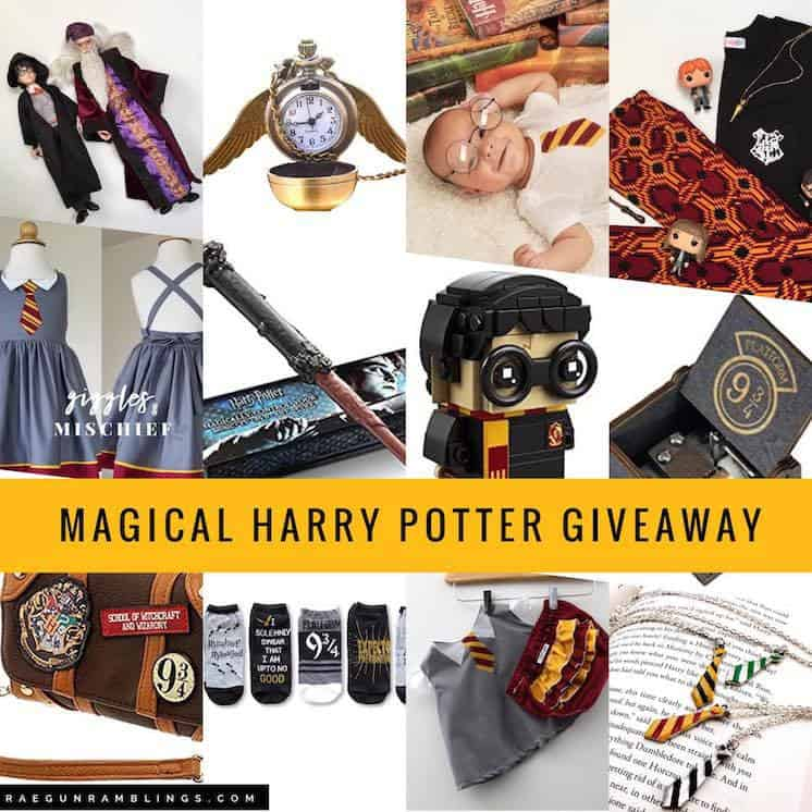 Back to Hogwarts Harry Potter giveaway list