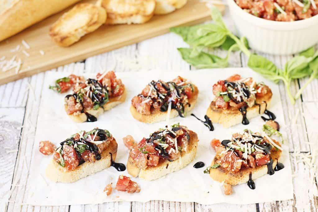 Easy Tomato Bruschetta Recipe