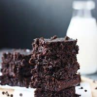 Gluten-Free Fudgy Flourless Chocolate Brownies